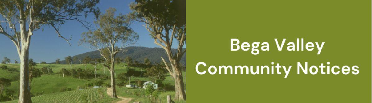 Bega Valley Community Notice Board cover image