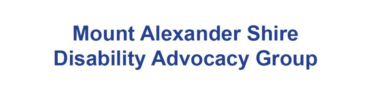 Mount Alexander Shire Disability Advocacy Group cover image